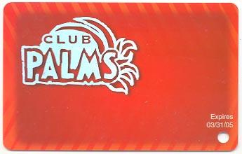 Palms casino slot club casino fast cash